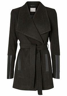 Vero Moda rövid kabát bőrhatású rátéttel széles gallérral »CALA«