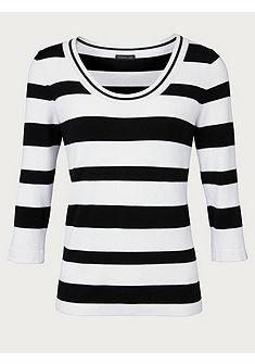 PATRIZIA DINI by Heine Pruhovaný pulovr s 3/4 rukávy