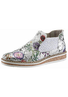 Rieker virágmintás chelsea cipő