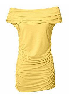 ASHLEY BROOKE by Heine alakformáló carmen nyakkivágású póló fodrokkal