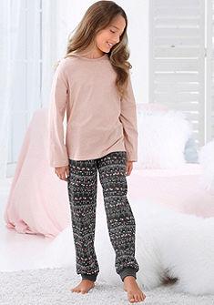 s.Oliver RED LABEL Bodywear Dievčenská pyžama s etnickým vzorom