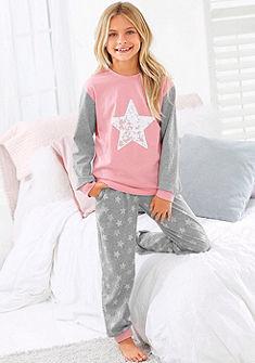 Arizona Dívčí pyžamo s natištěnými hvězdami