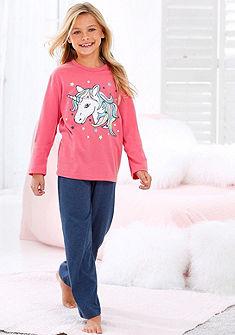 Arizona Dívčí Dlouhé pyžamo s etnickým vzoromem