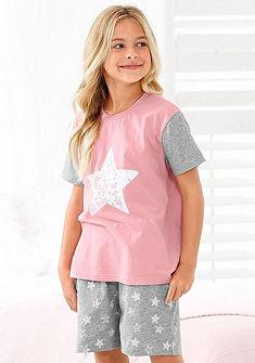 Arizona Dívčí krátké kalhoty s natištěnými hvězdami