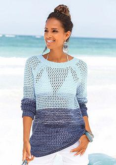LASCANA Plážový pulóver
