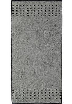 Fürdőlepedő, Cawö, »Sense Bordüre«, strukturált bordűrrel