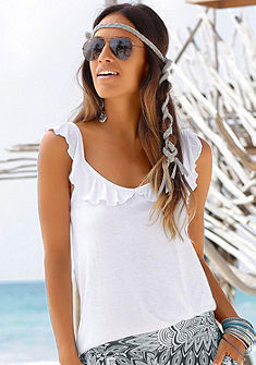 s.Oliver RED LABEL Beachwear Letní top