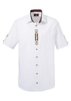 OS-Košile ve venkovském stylu a folklórním motivem
