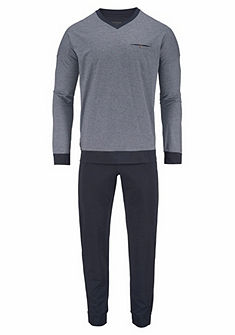 Schiesser pizsama hosszú nadrágos
