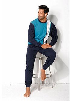 HIS Pyjama hosszúszárú pizsama logó mintával