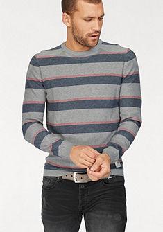 Tom Tailor Denim pulovr s kulatým výstřihem