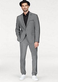 Bruno Banani öltöny kockás mintával, szűkített fazonnal