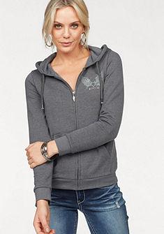 Arizona kapucnis pulóver »hátán strasszköves mintával«