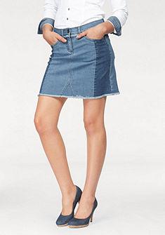 Arizona Riflová sukně »s třásněmi«