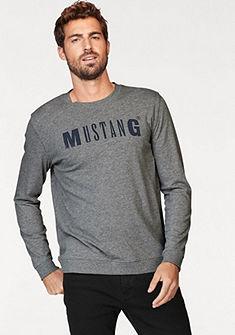 Mustang kereknyakú pulóver melírozott hatással