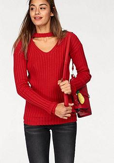 AJC V-nyakú pulóver