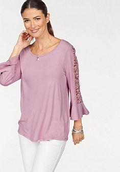 Laura Scott Čipkované tričko