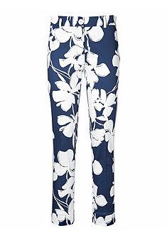 PATRIZIA DINI by heine Vzorované kalhoty, boční rozparky