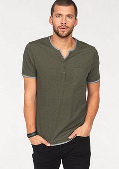 Ocean Sportswear póló mellzsebbel és gombokkal