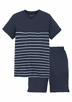 Schiesser fiú  rövidnadrágos pizsama csíkos