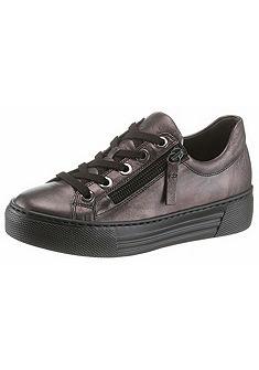 Gabor fűzős sneaker cipő oldalán cipzárral