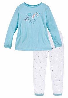 Schiesser Einhorn Dlhá Pyžamo pro holčičky