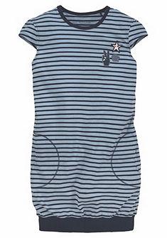 Schiesser Dětská noční košile v pruhovaném vzhledu