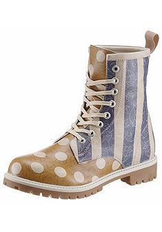 DOGO Šněrovací boty »pruhy a bodky«