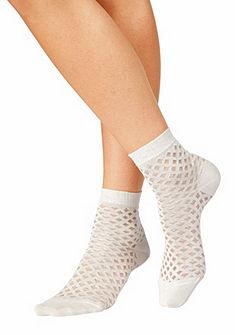 Sympatico Jemné ponožky v síťovaném vzhledu