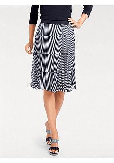 PATRIZIA DINI by heine Plisovaná sukňa s elastickým pásom