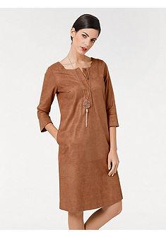 B.C. BEST CONNECTIONS by heine Žerzejové šaty s rozšířenými rukávy
