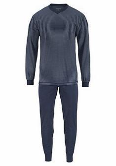 Ammann Dlhá pyžama pruhová