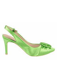 Heine sling cipő szaténból
