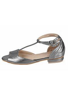 Andrea Conti pántos balerina cipő fémes hatással