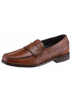 Bugatti slip-on cipő, kézi koptatással