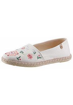 VERBENAS trendi espadrilles textil cipő hímzett mintával
