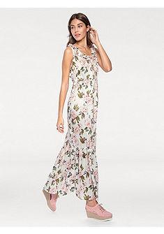 LINEA TESINI by heine Dlhé šaty s kvetinovou potlačou