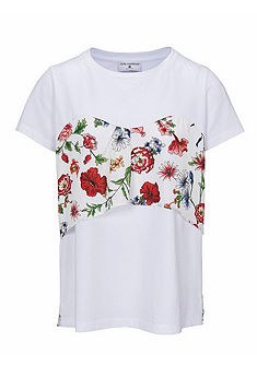 RICK CARDONA by Heine 2 az 1-ben póló virág nyomásmintával