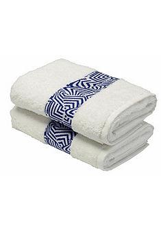 Ručníky, GMK Home & Living »modré vlny« s moderním vzorem