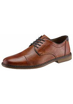 Rieker Šněrovací topánky s jemnou perforací