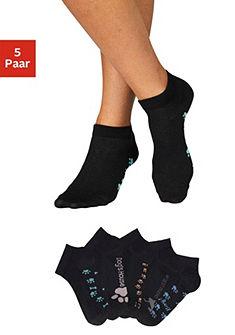 Arizona sneaker zokni kutyás mintával (5 pár)