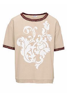 RICK CARDONA by Heine oversize póló elején nyomásmintával