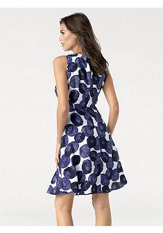 ASHLEY BROOKE by Heine Tvarovacie vzorkované šaty