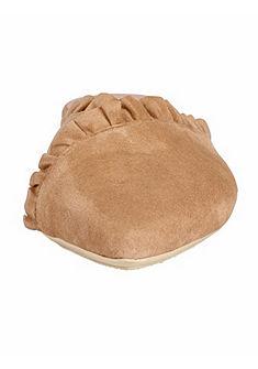 XYXYX Pantofle s nabíraným lemem