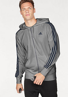 adidas Performance Mikina s kapucňou »ESSENTIAL 3STRIPES FZ FT«
