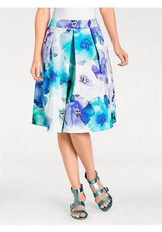 ASHLEY BROOKE by heine Vzorovaná sukňa s kvetinovým dizajnom