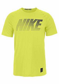 Nike Sportovní tričko »NIKE PRO TOP ŠortkyLEEVE FITTED HYBER«