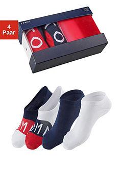 Tommy Hilfiger Ťapky a ponožky (4 páry) v škatuli
