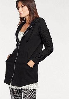 Boysen's kapucnis pulóver asszimmetrikus szegéllyel