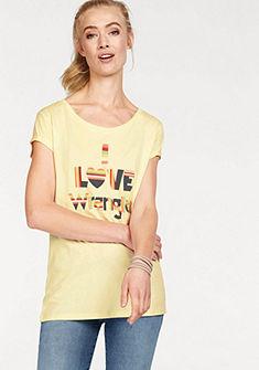 Wrangler póló színes felirattal